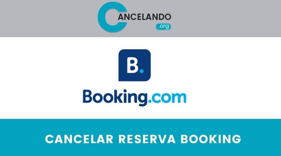 Cómo cancelar una reserva en booking